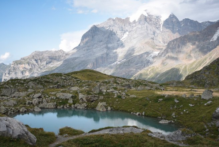 """""""Looking for the sublime? It's in this Swiss Valley.""""   Image by Stephen Hiltner/The New York Times"""