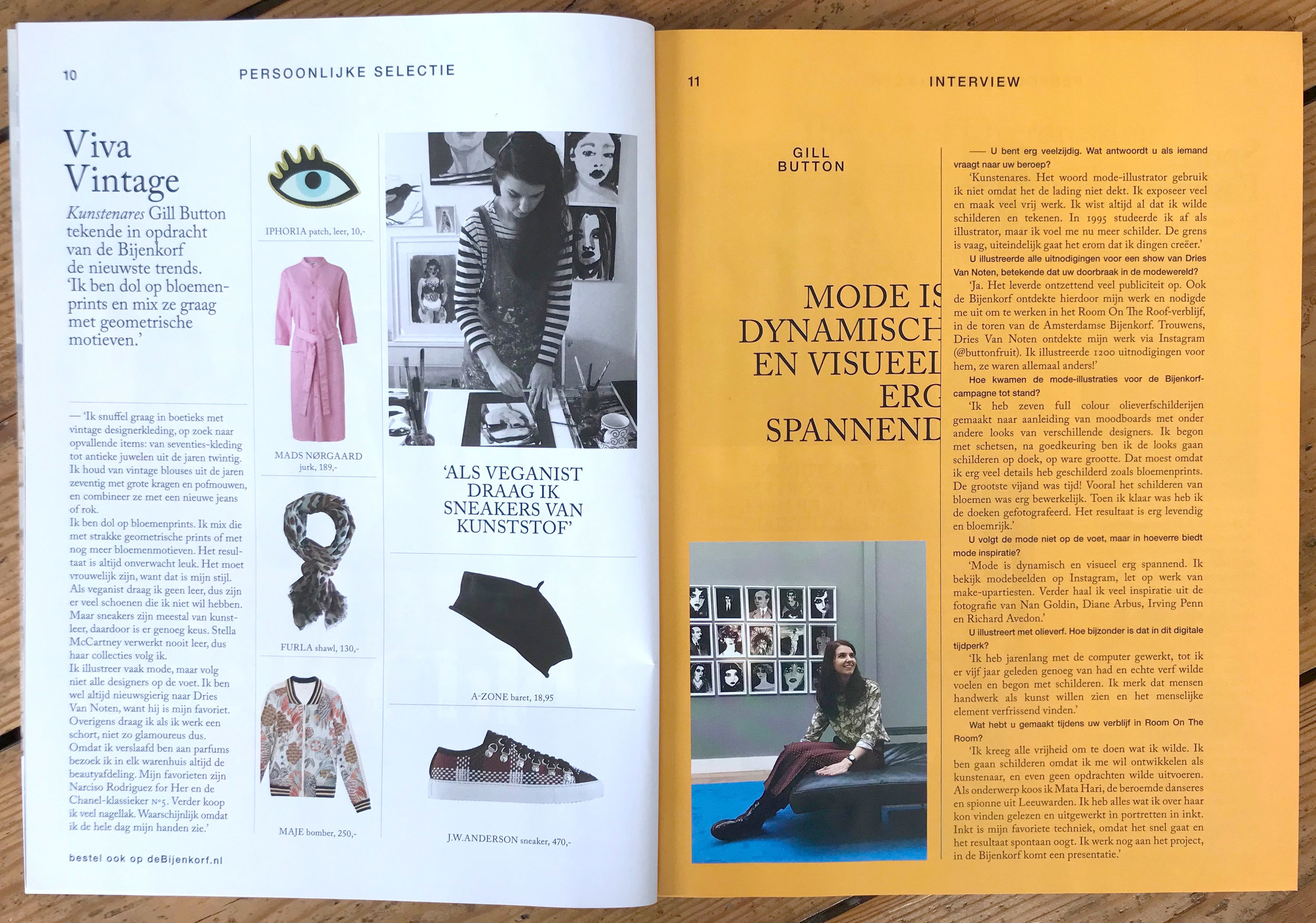 De Bijenkorf magazine