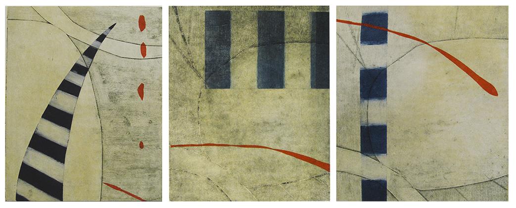 Circio Suite (triptych), SOLD