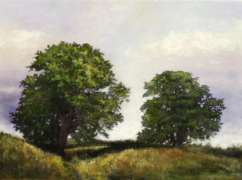 Graham_Two Trees_encaustic,gouache_22x30_$1200.jpg
