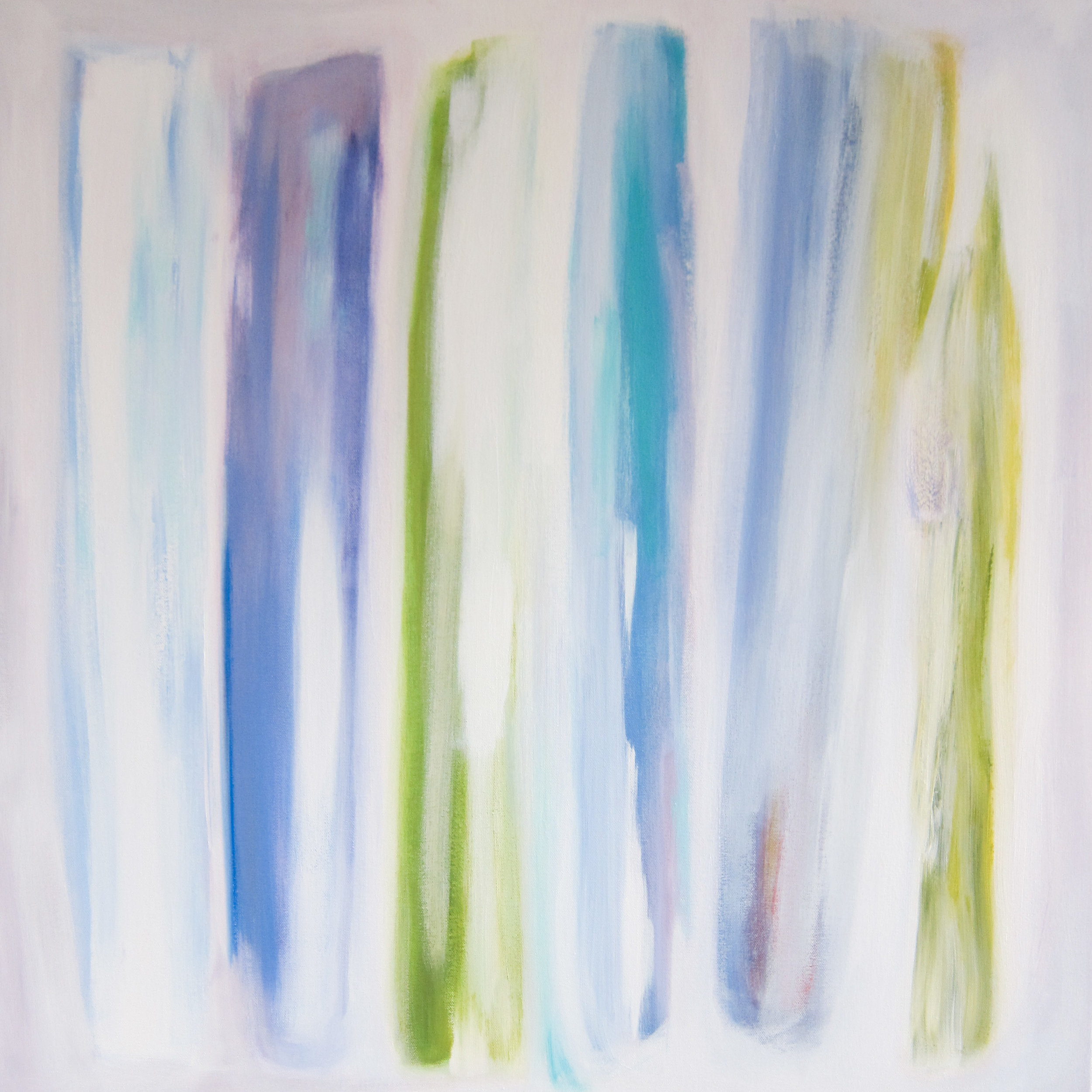 """Winter Glory"", acrylic, 30 x 30"", $1,200"