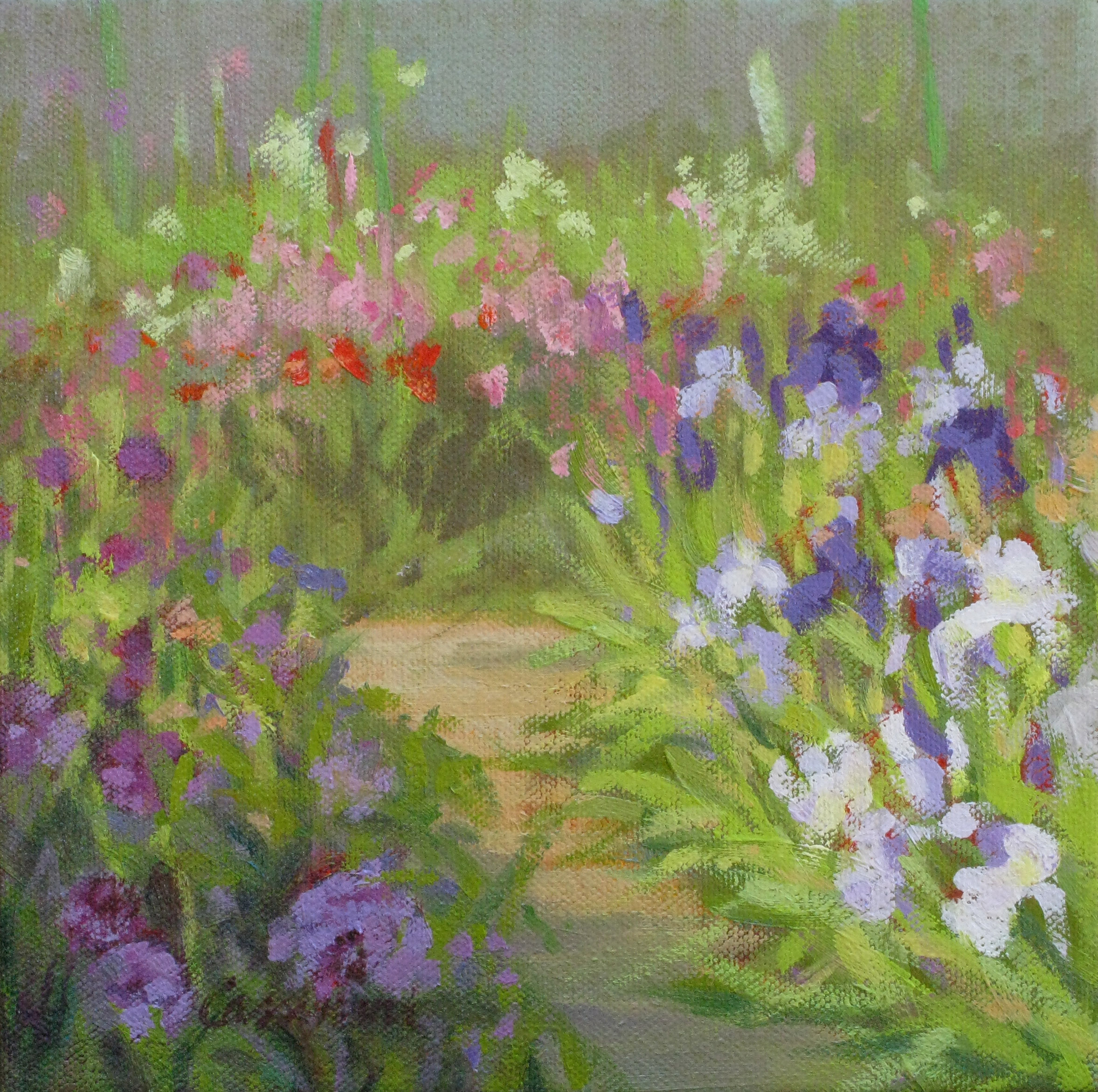 Cassinari_GardenPath,Giverny_oil_8x8_$300.jpg