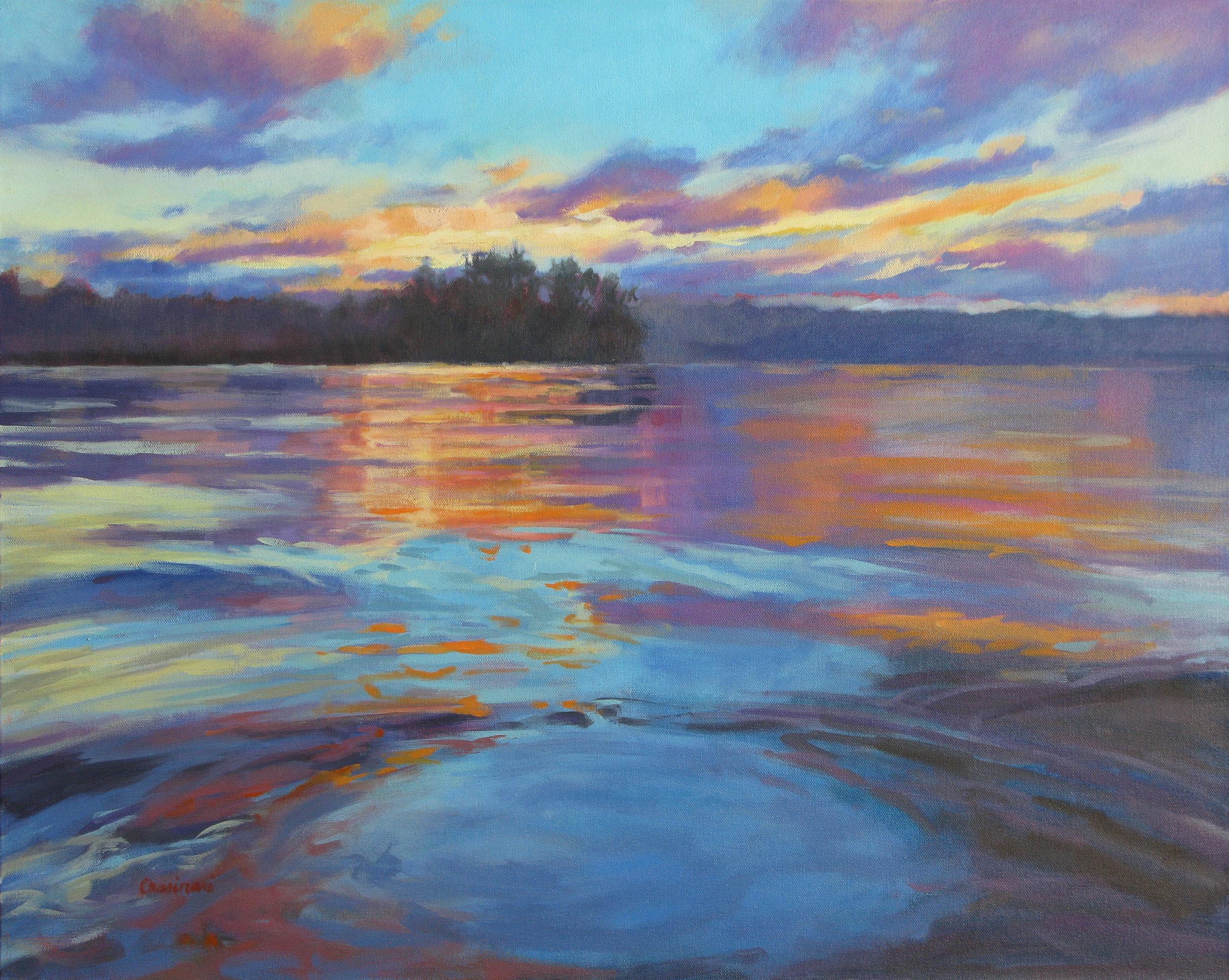 Cassinari_Lake At Twilight_24x30_$1200.jpg