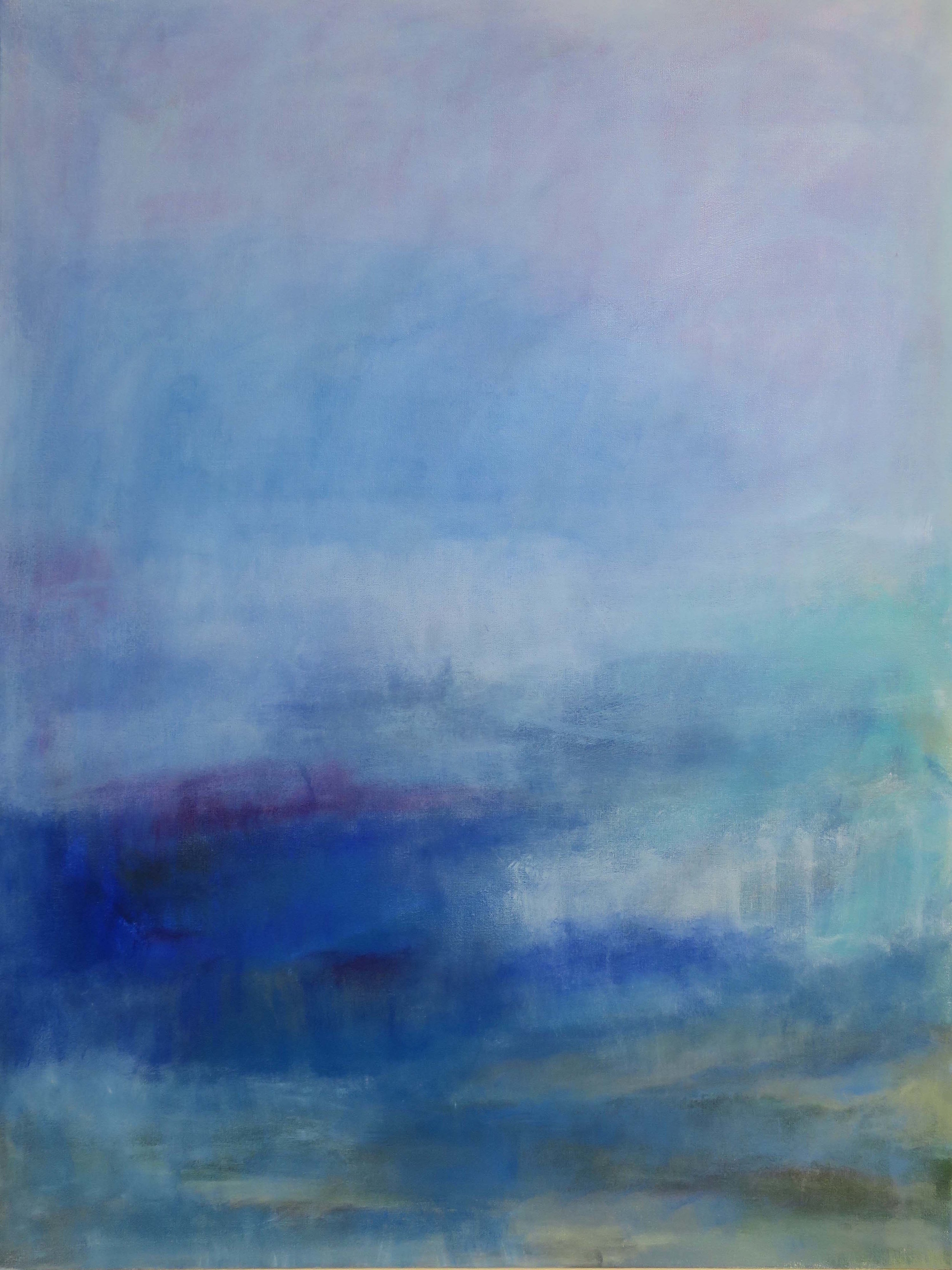 """""""The Sea Has Taken Hold Of Me"""", acrylic, 40"""" x 30"""", $1,500"""