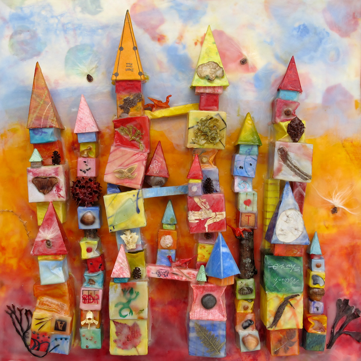 "<p><strong>JEANNE BOROFSKY</strong>encaustic, printmaking<a href=""/jeanne-borofsky"">More →</a></p>"