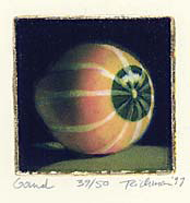 """Gourd"", multi-plate etching, $125 (unframed)"