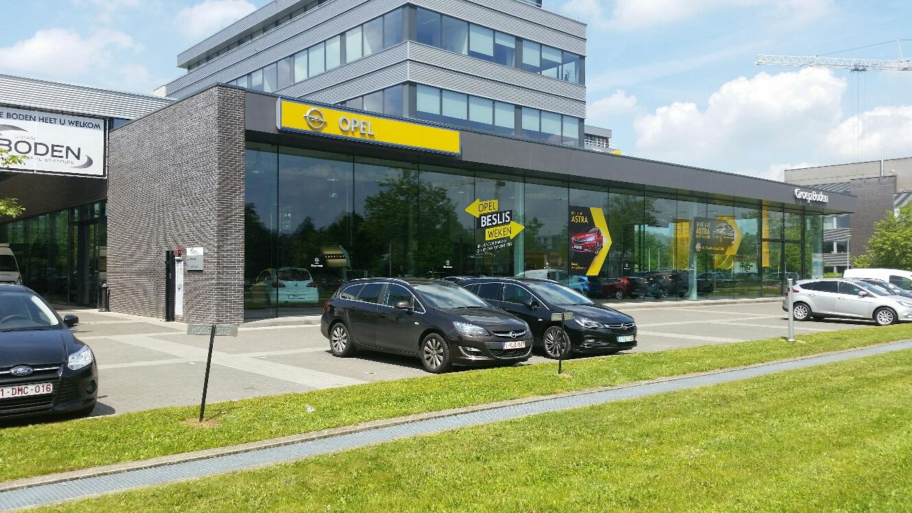 Garage Boden Hasselt  Herkenrodesingel 4 3500 Hasselt   Tel.: 011 21 18 10