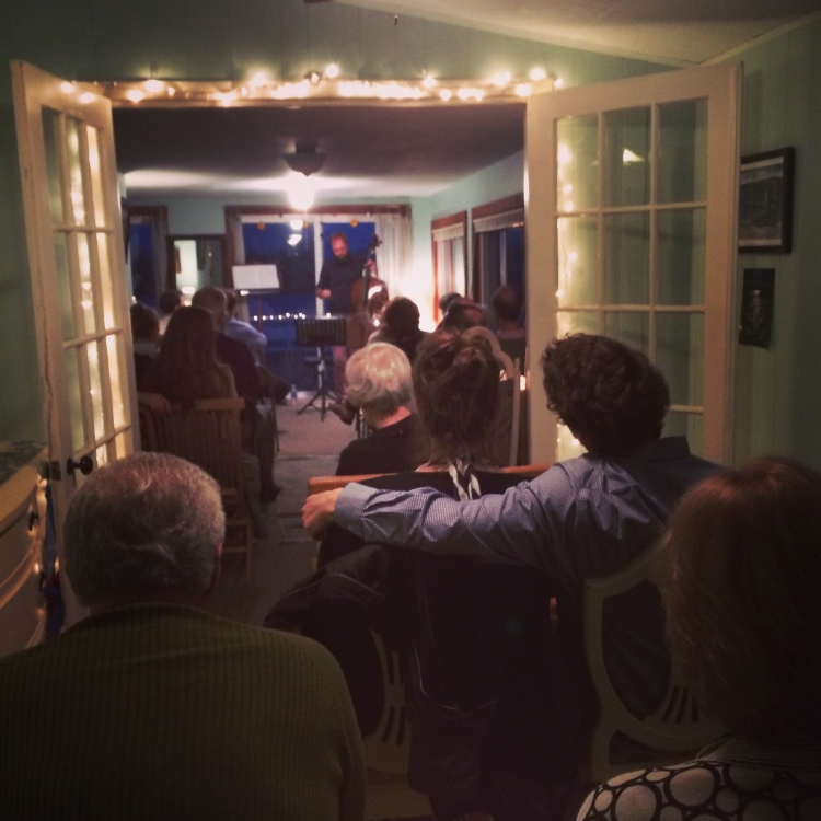 A special house concert on Plum Island, MA