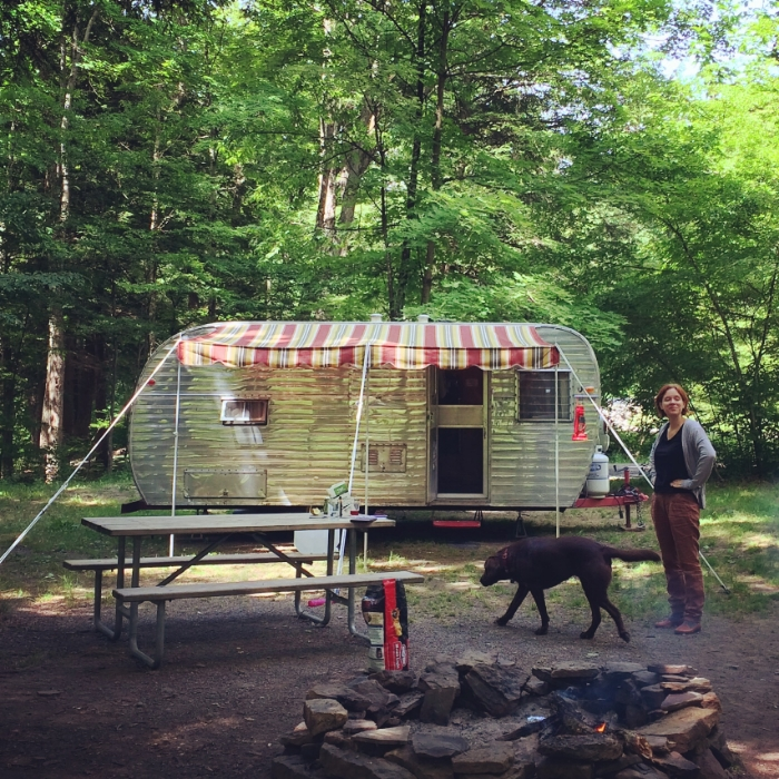 Camping in Allegany National Forest