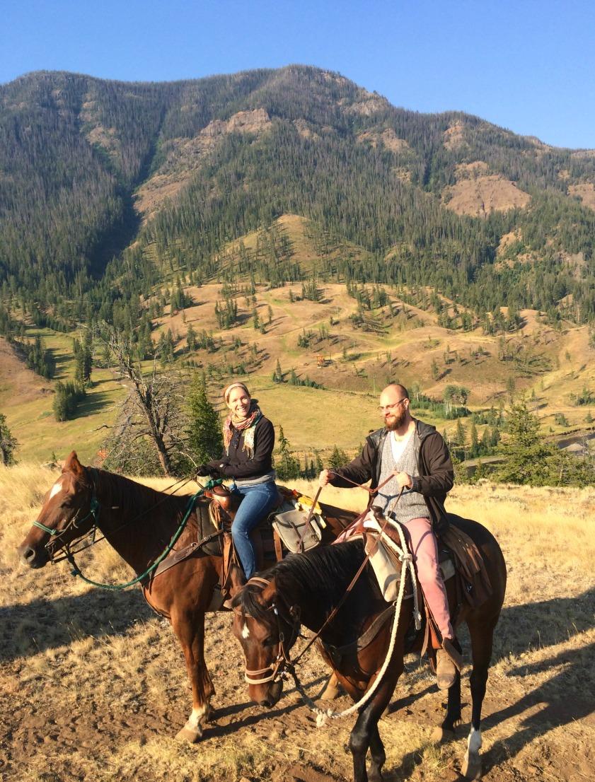 An unforgettable horseback ride through the mountains in Montana