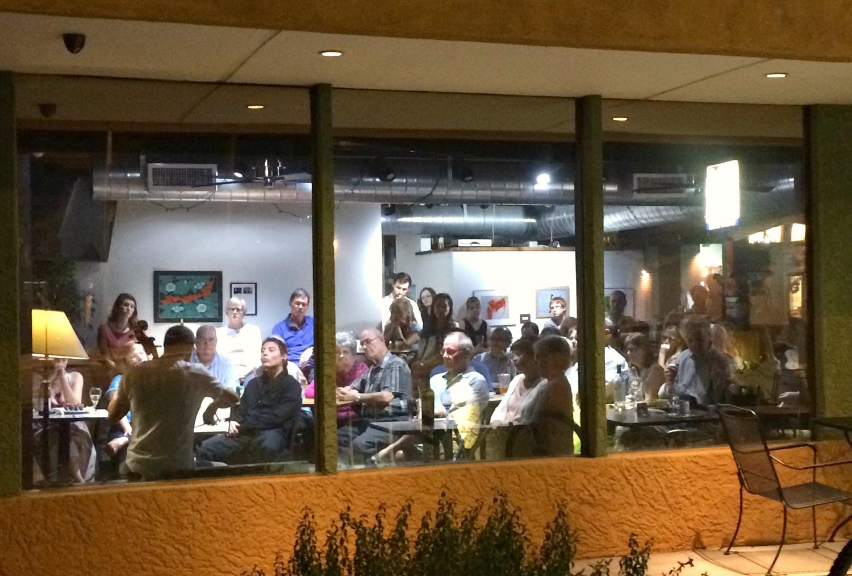 At The Refuge Cafe in Phoenix, AZ