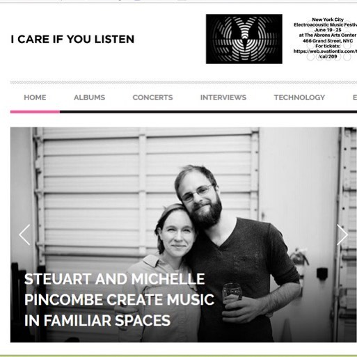 Excited for MFS to be featured on the awesome blog @icareifyoulisten today! Visit icareifyoulisten.com to read the article. #musicinfamiliarspaces