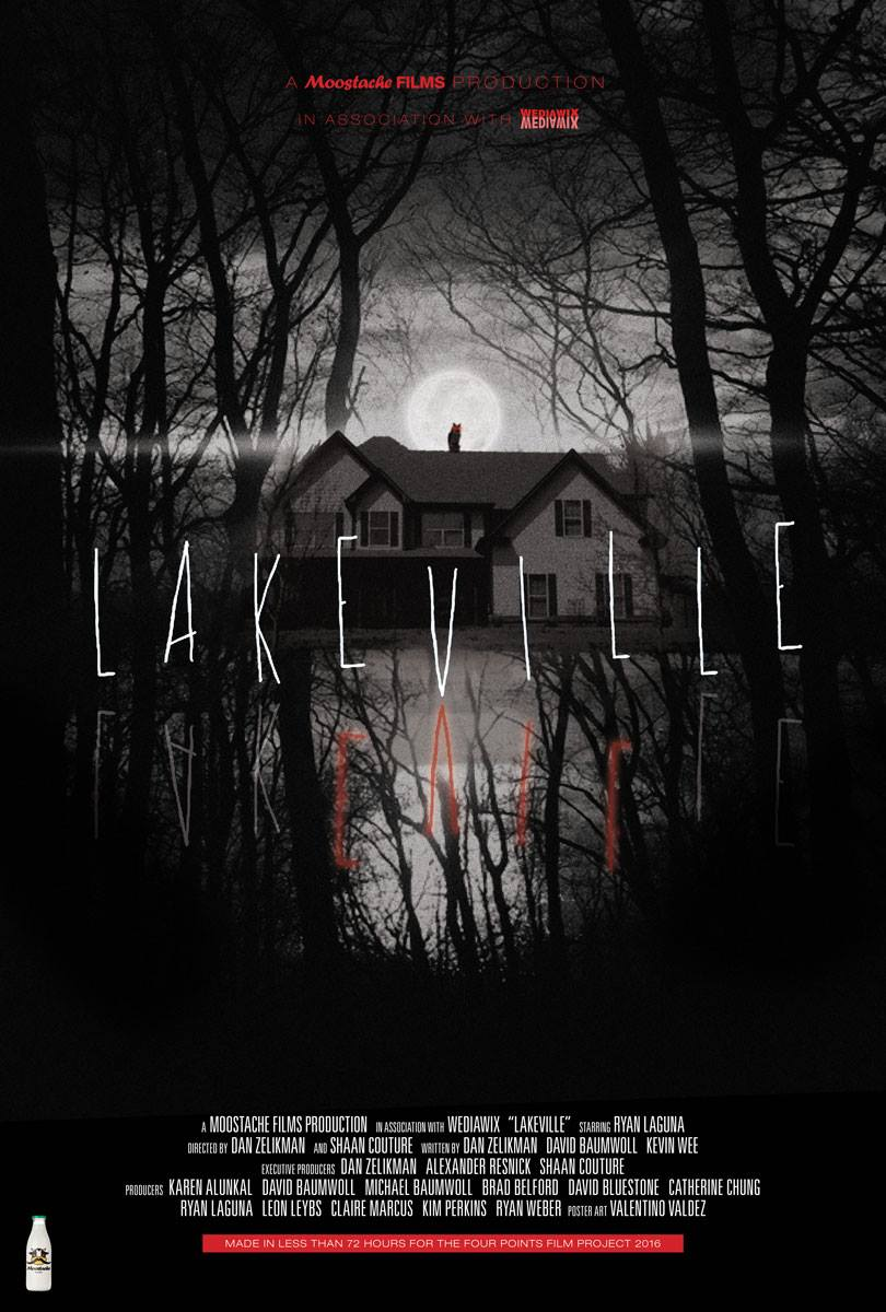 LAKEVILLE   A horror film short made in less than 72 hours for the 2016  Four Points Film Project , and one of 28 films nominated for the coveted Audience Choice Award,out of 151 films from 10 countries.