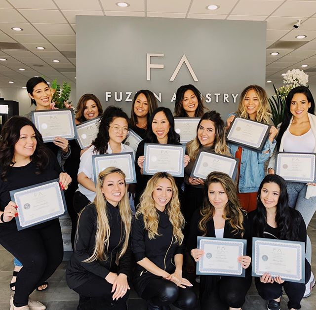 It has been one amazing week! I am still on a high from not only getting certified in Ombre Powder Brows (yasss!!!) but meeting so many incredible #PMU artists in our class at @fuzionartistry! We learned so much from each other, from our amazing trainers @leann.la @kim_lash and Chandler Peck, and I am so inspired to take my artistry, business and self-development to the next level! In the coming days and weeks, my business partner and I will officially be launching our new studio in NYC that includes semi-permanent makeup as well as our makeup classes and standard services. 🙌🏼