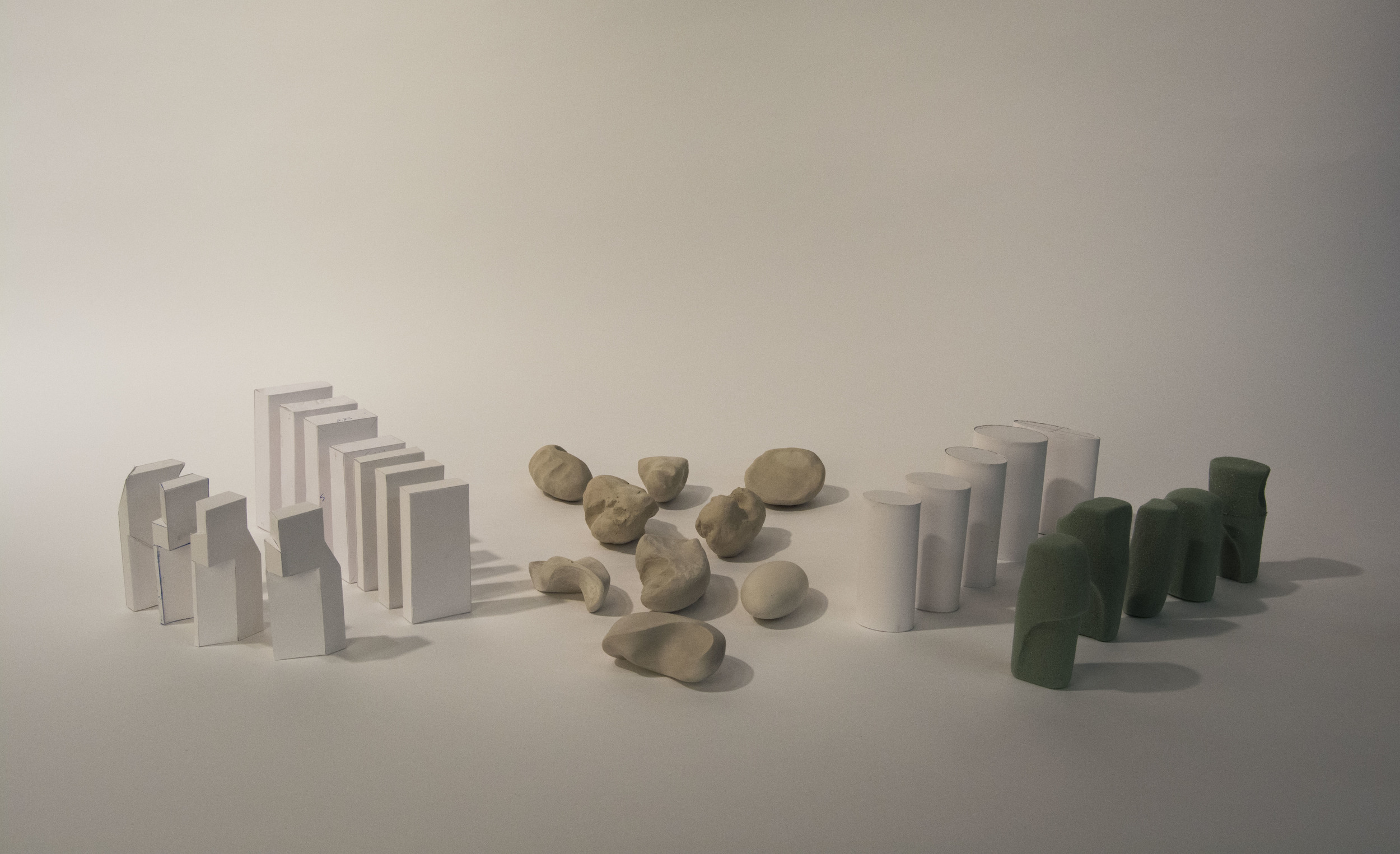 All of my models, explorative and final
