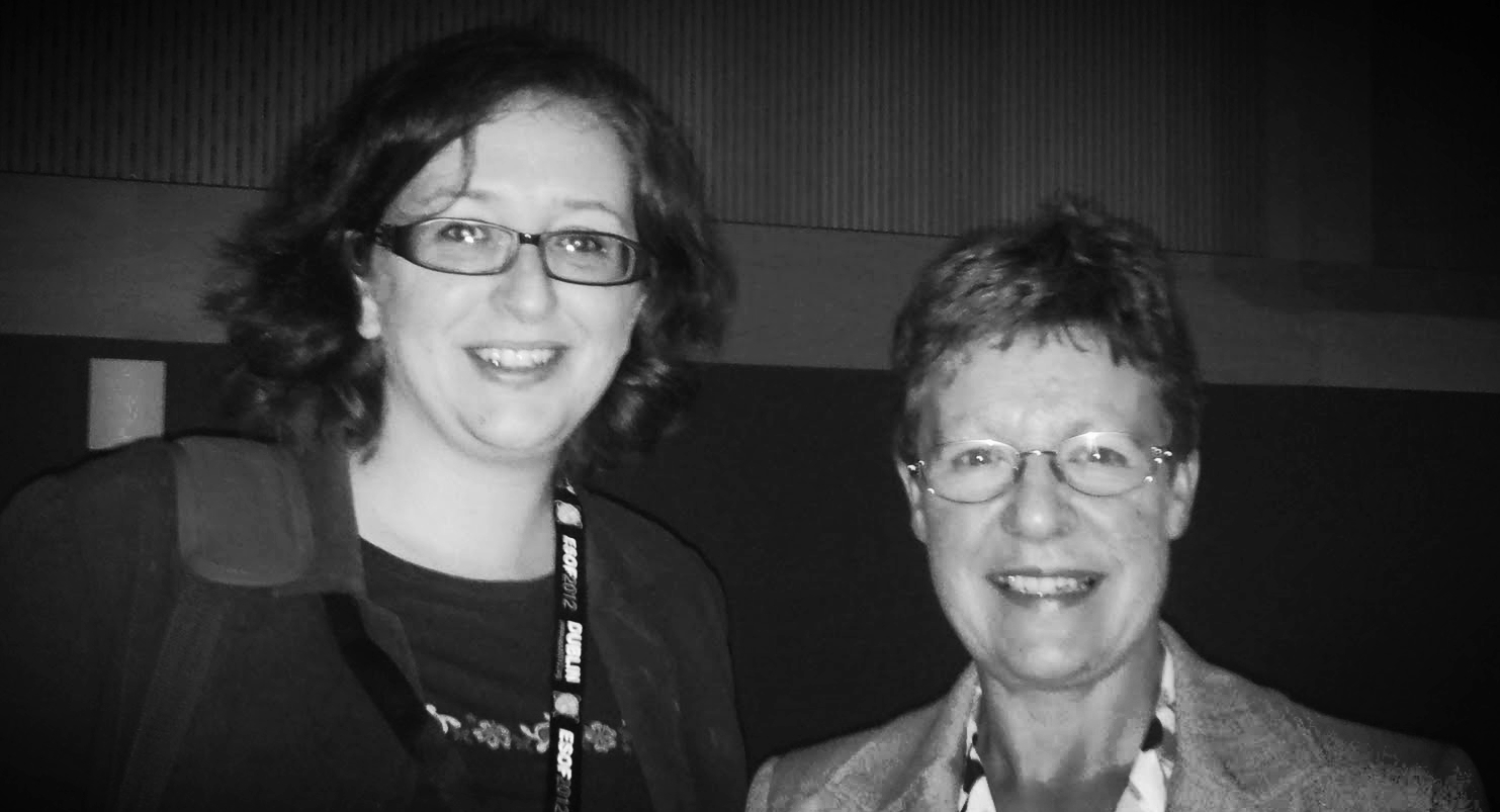Jocelyn Bell Burnell and me (the total fan girl)