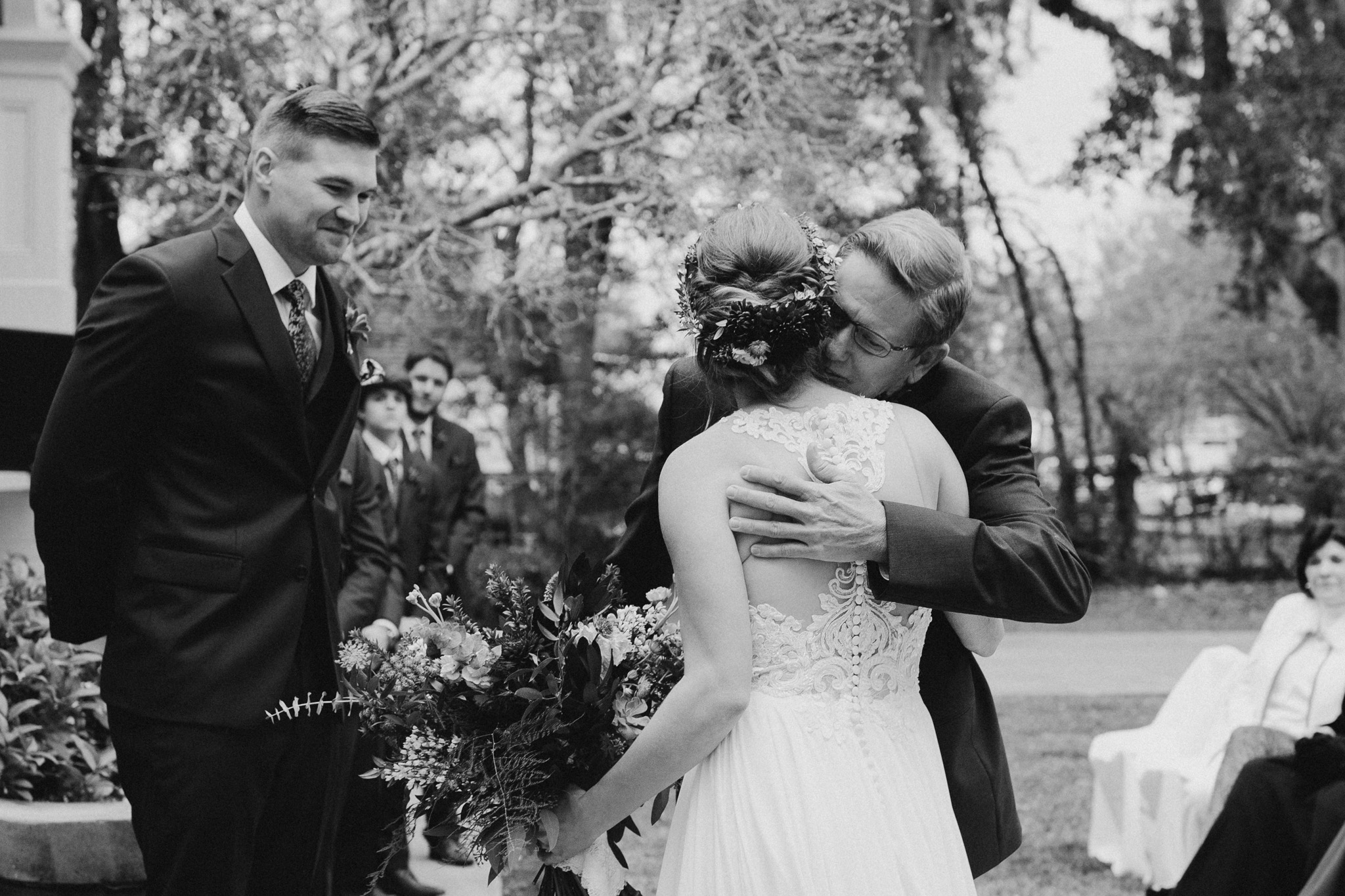 A Moody, Romantic Winter Wedding at Maison Lafitte | Mandeville, Louisiana | Gabrielle Hail Photography