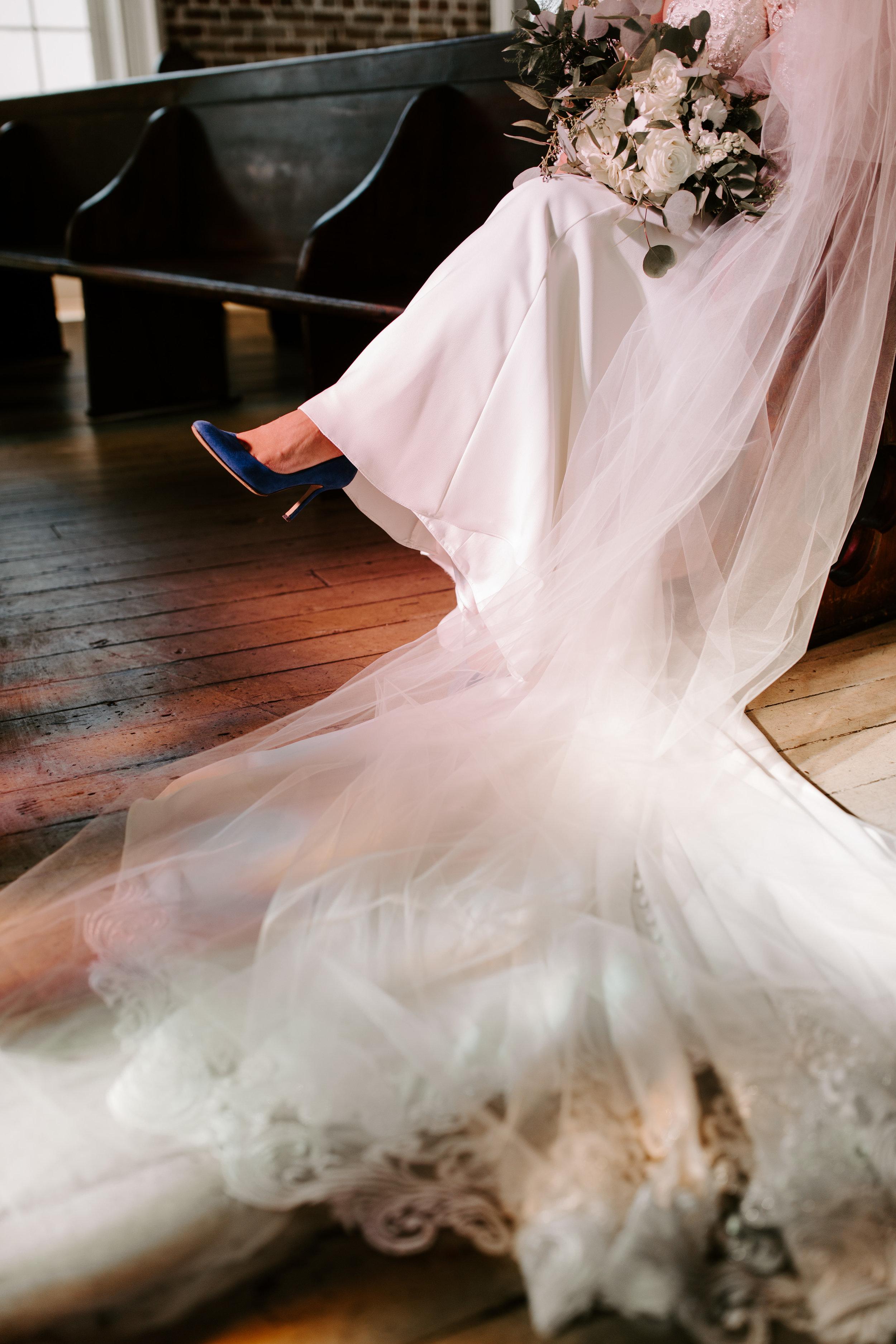 An Ultra Feminine, Elegant Bridal Session at Felicity Church | New Orleans, Louisiana | Wedding Photography