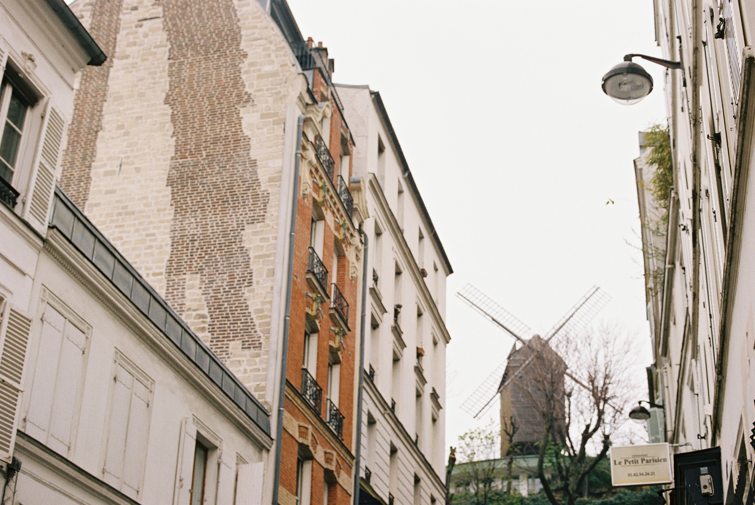The streets of Montmartre, where we stayed in a third floor apartment.