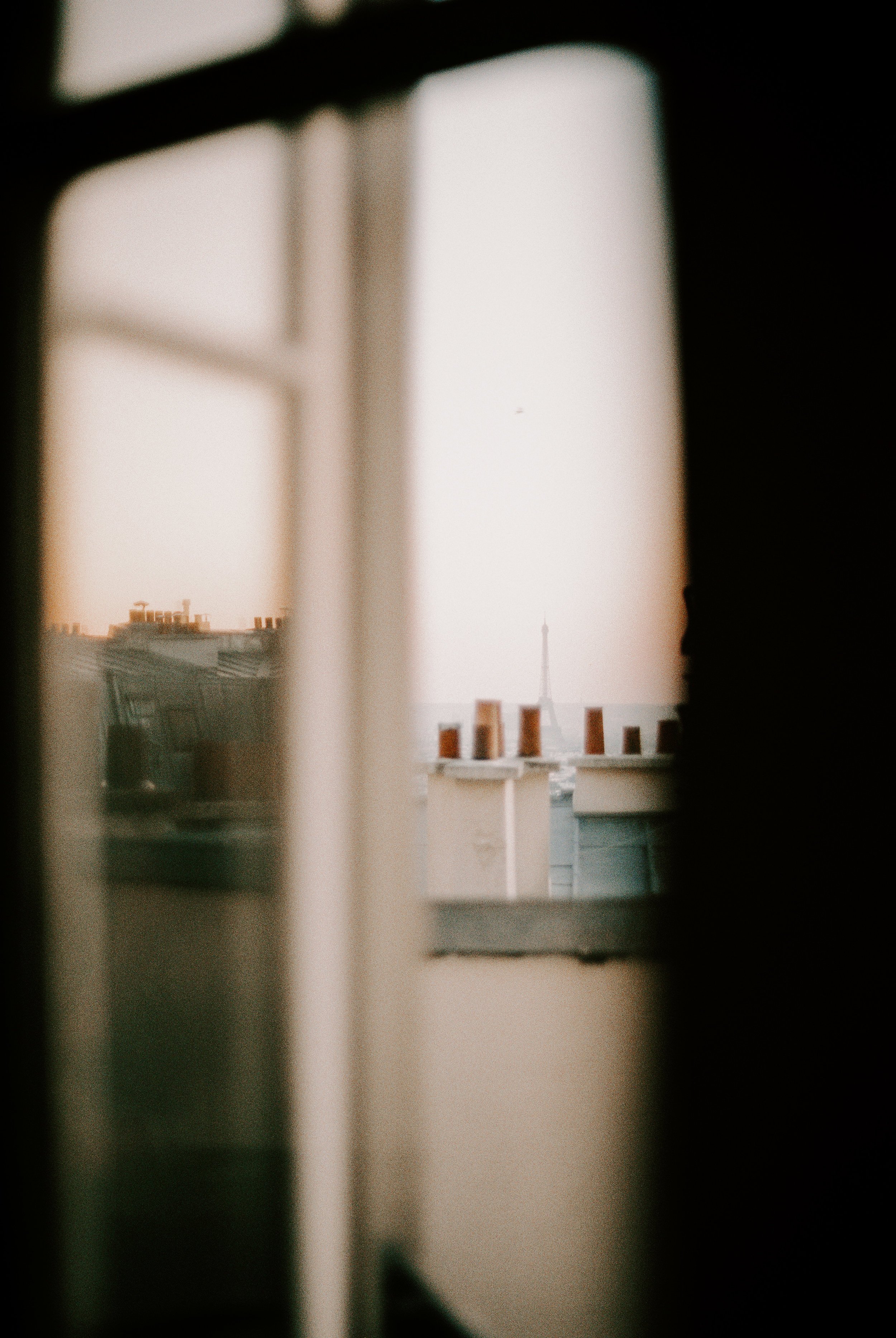 Our view from the apartment window included the Eiffel Tower at a distance. We adored this home away from home and the apartment gave us a sanctuary from the crowded, frustrating Parisian streets.