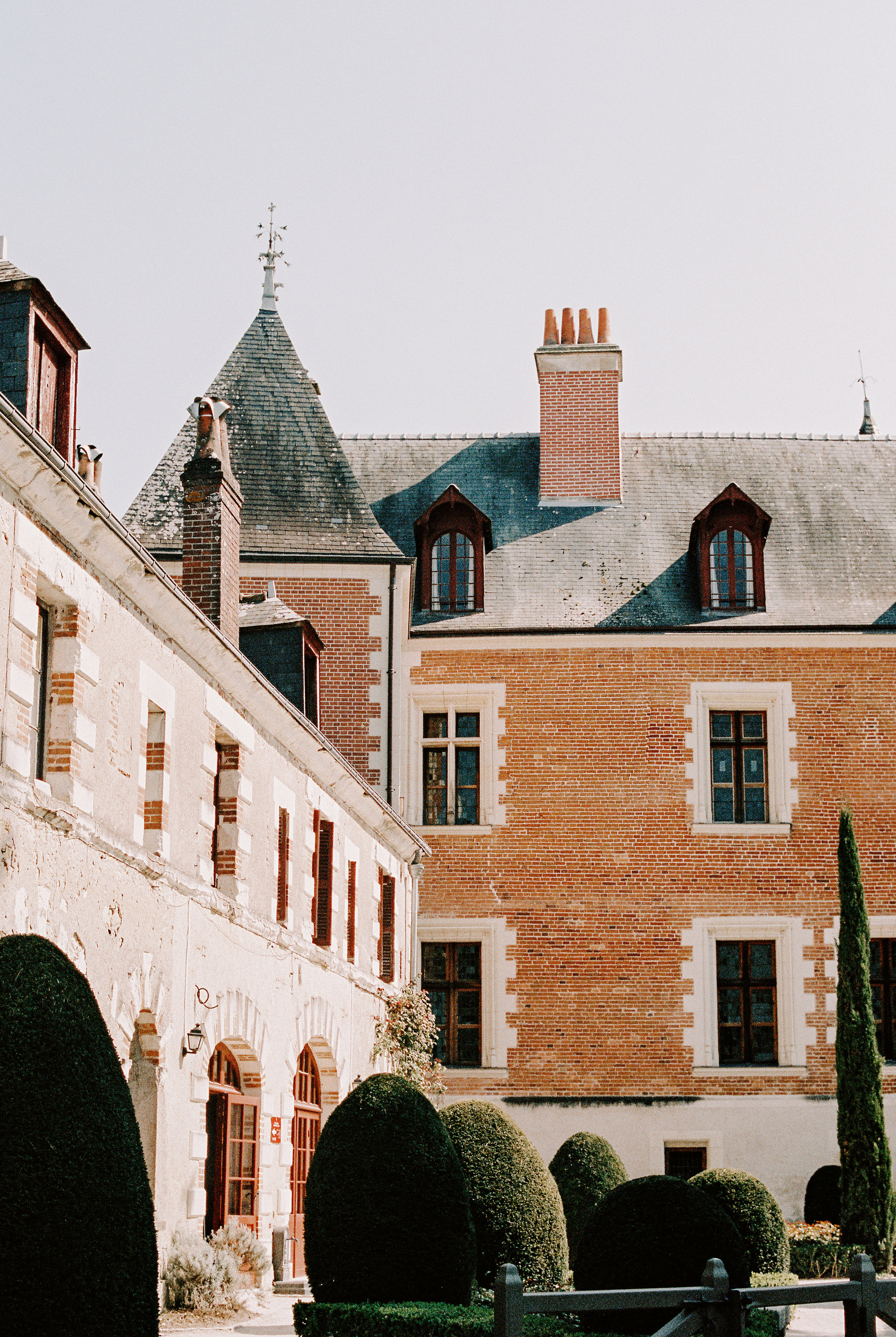 Chateau Clos Luce. Our first stop literally right off the train was to visit Leonardo da Vinci's retirement home. To say the homes and garden were gorgeous would be a gross understatement. I felt alive and inspired here.