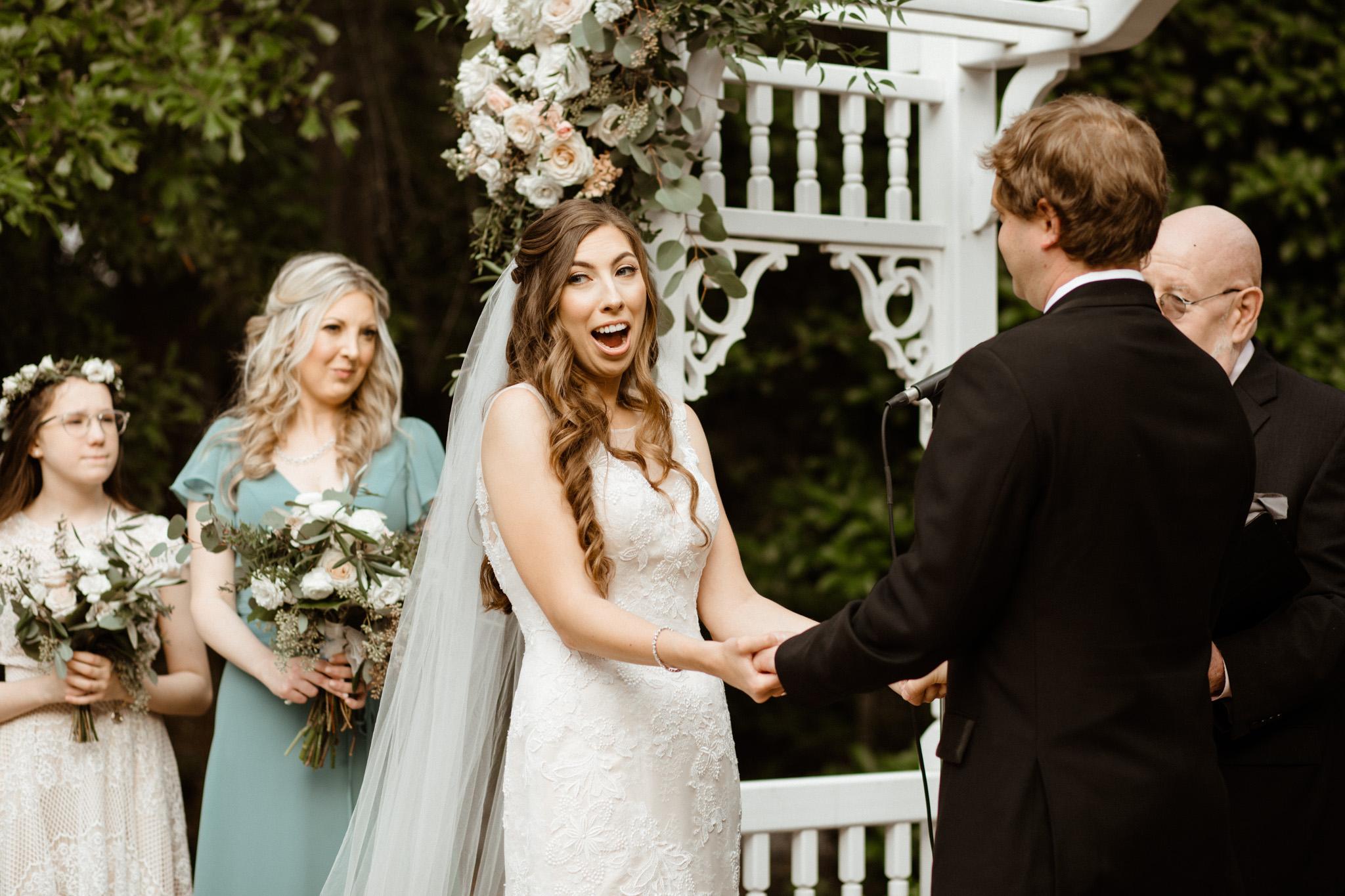 Louisiana Garden Wedding