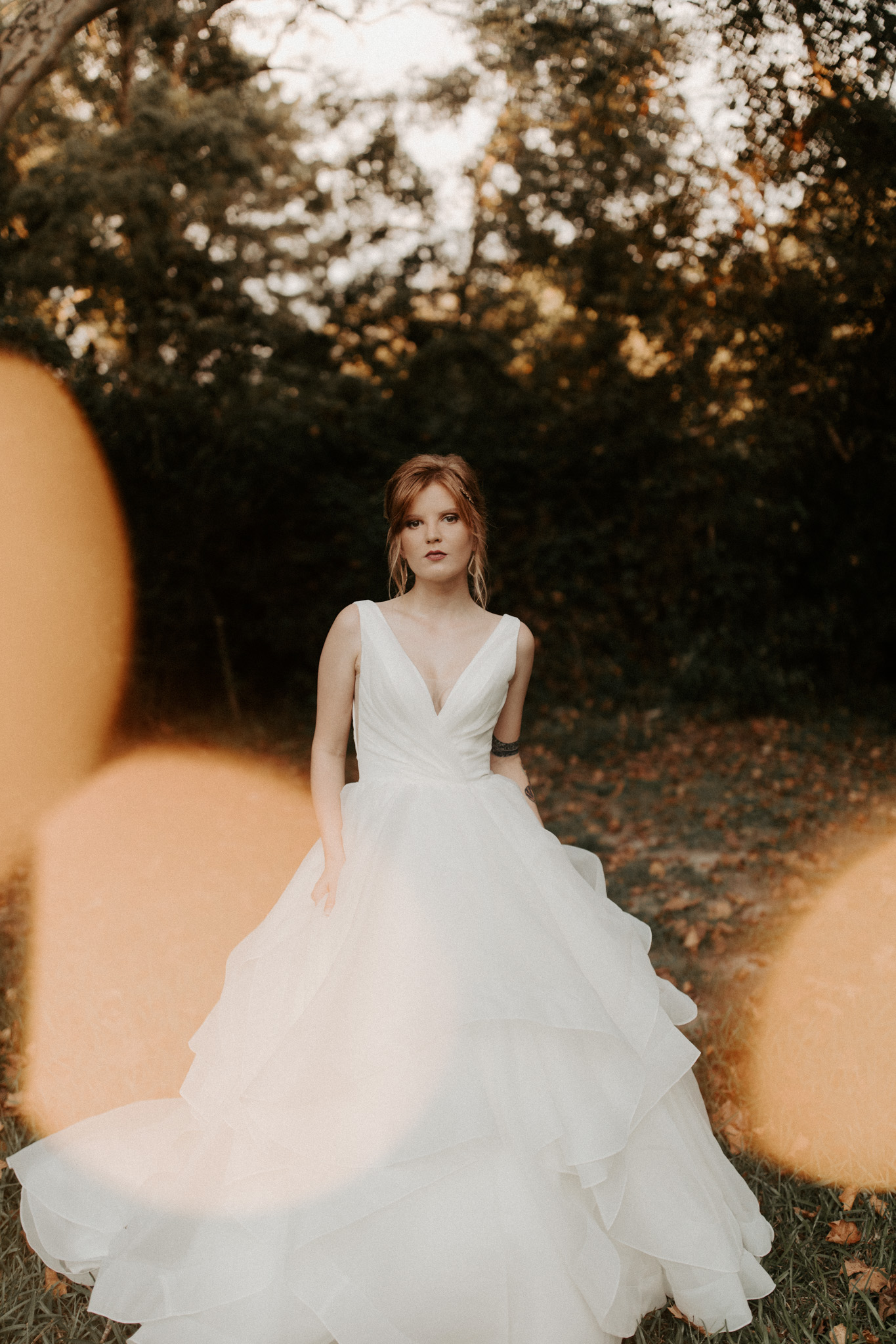 Moody, Autumn Bridal Inspiration with Non Traditional Details   New Orleans Wedding Photography
