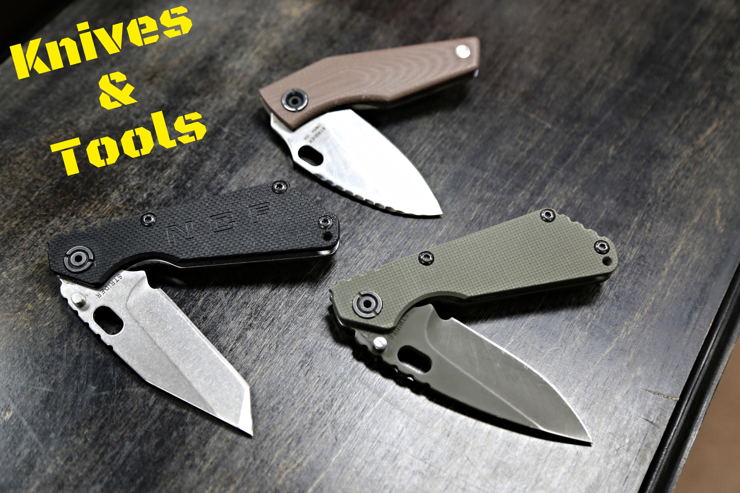 There is nothing like being prepared for any situation where you need a good blade or tool at your side.  That's why we always have high-quality knives and multi-tools for sale at our store.  By such trusted and great manufacturers like: -Strider Knives -Gerber  and more!