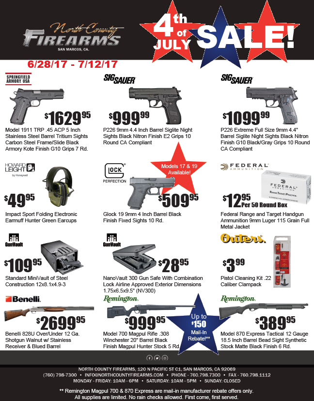 Click the sales flyer to enlarge overall image.