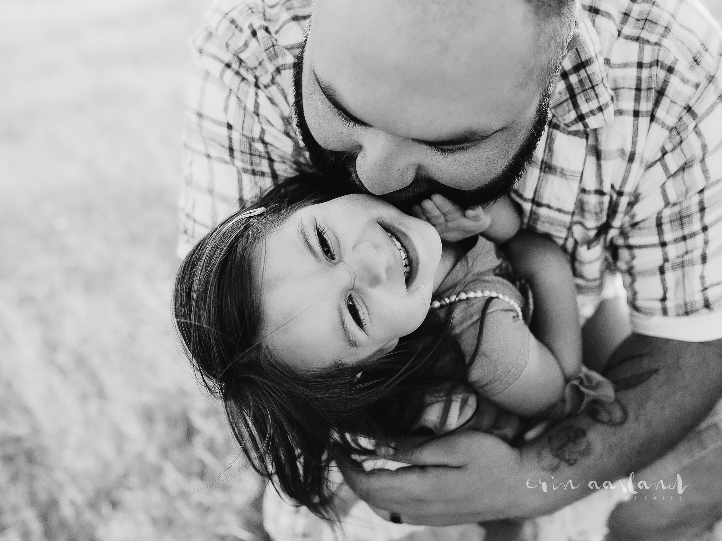 Erin Aasland Snoqualmie Family Photographer father daughter