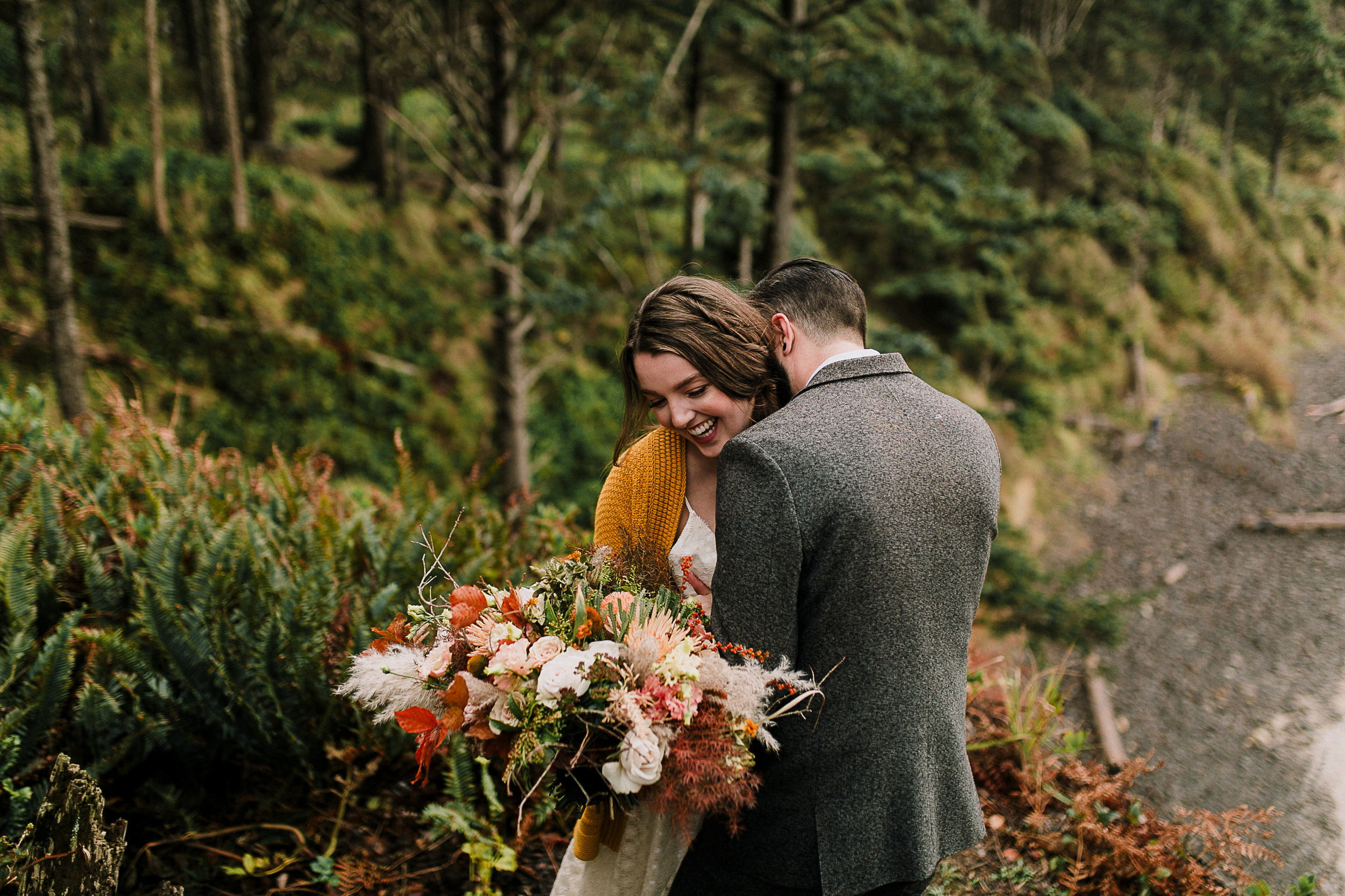 Erin Aasland Elopement Photographer Oregon Coast