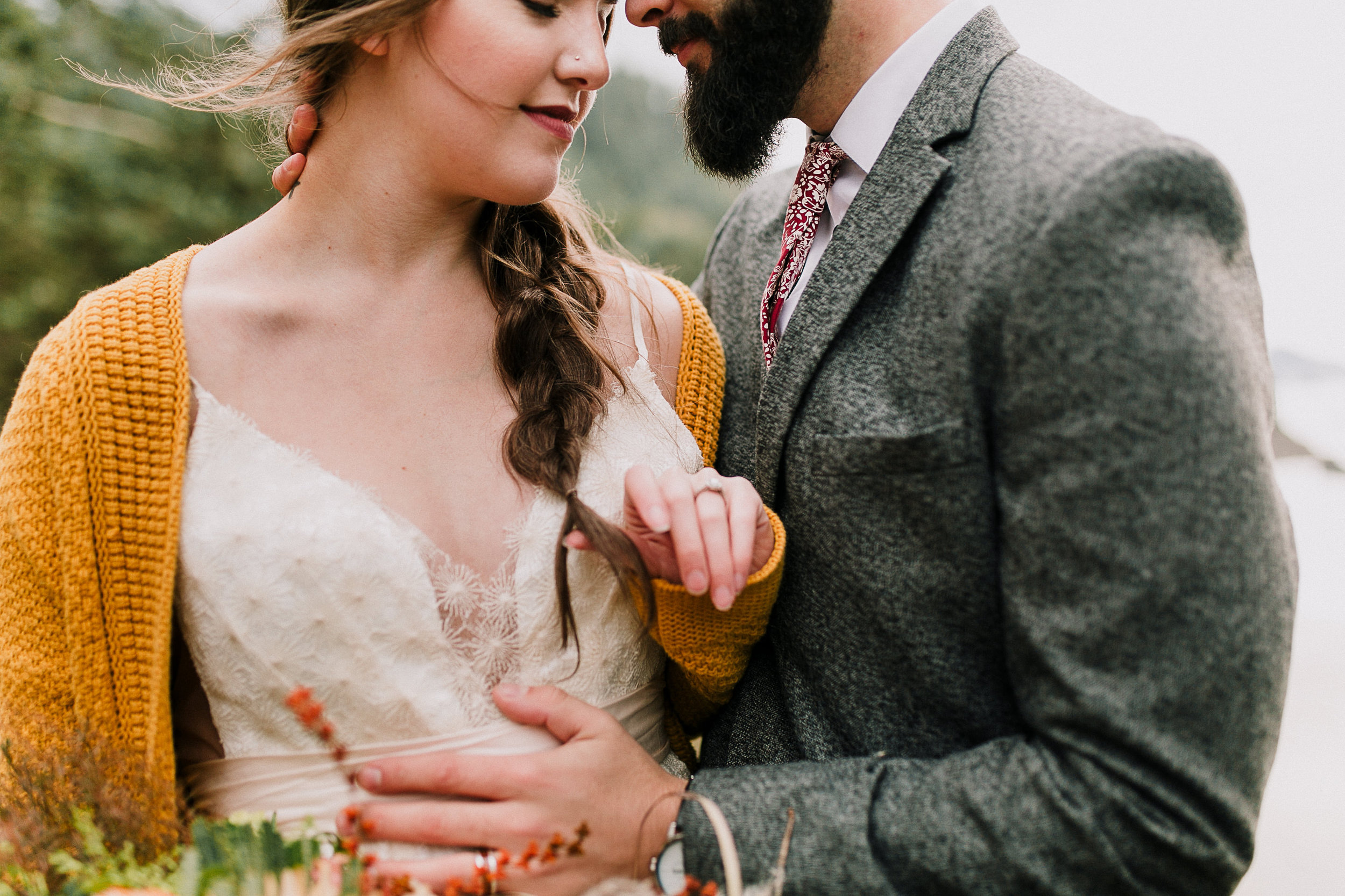 Erin Aasland Photographer PNW Adventure Elopement
