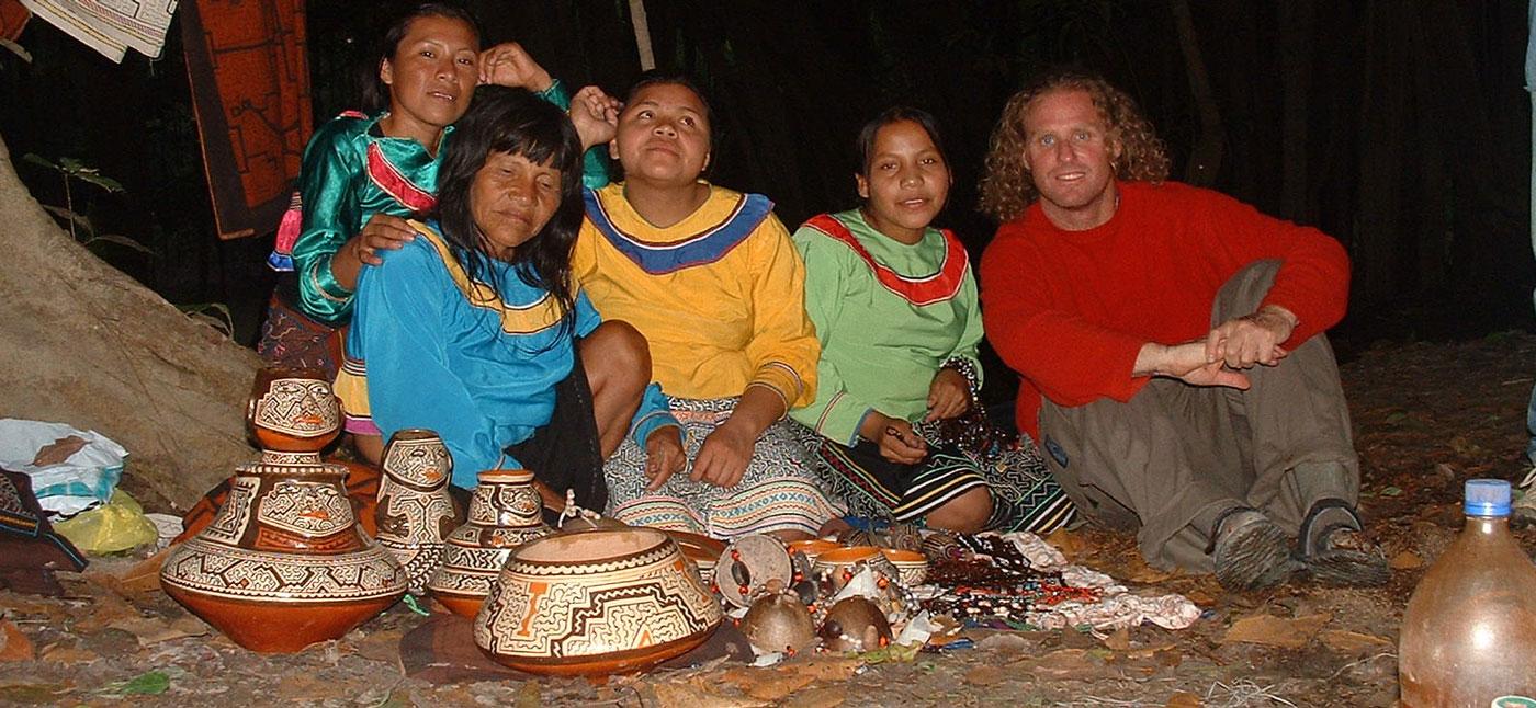 Peruvian Rainforest Shamanic Journey '04 with Shipibo Tribe