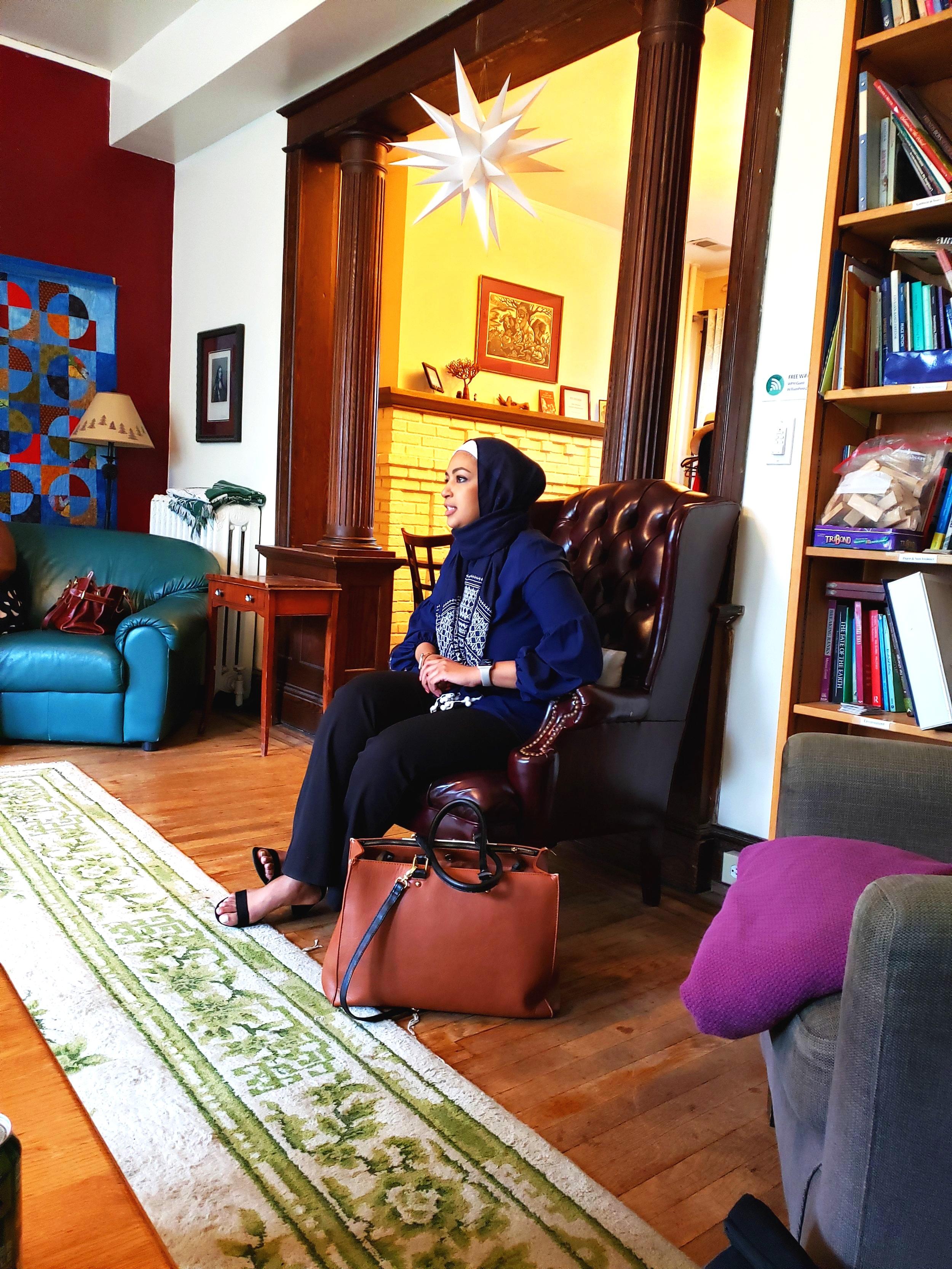 Zainab Jackson, MS, NCC, LCPC, Co-founder of  Jackson Wellness Group