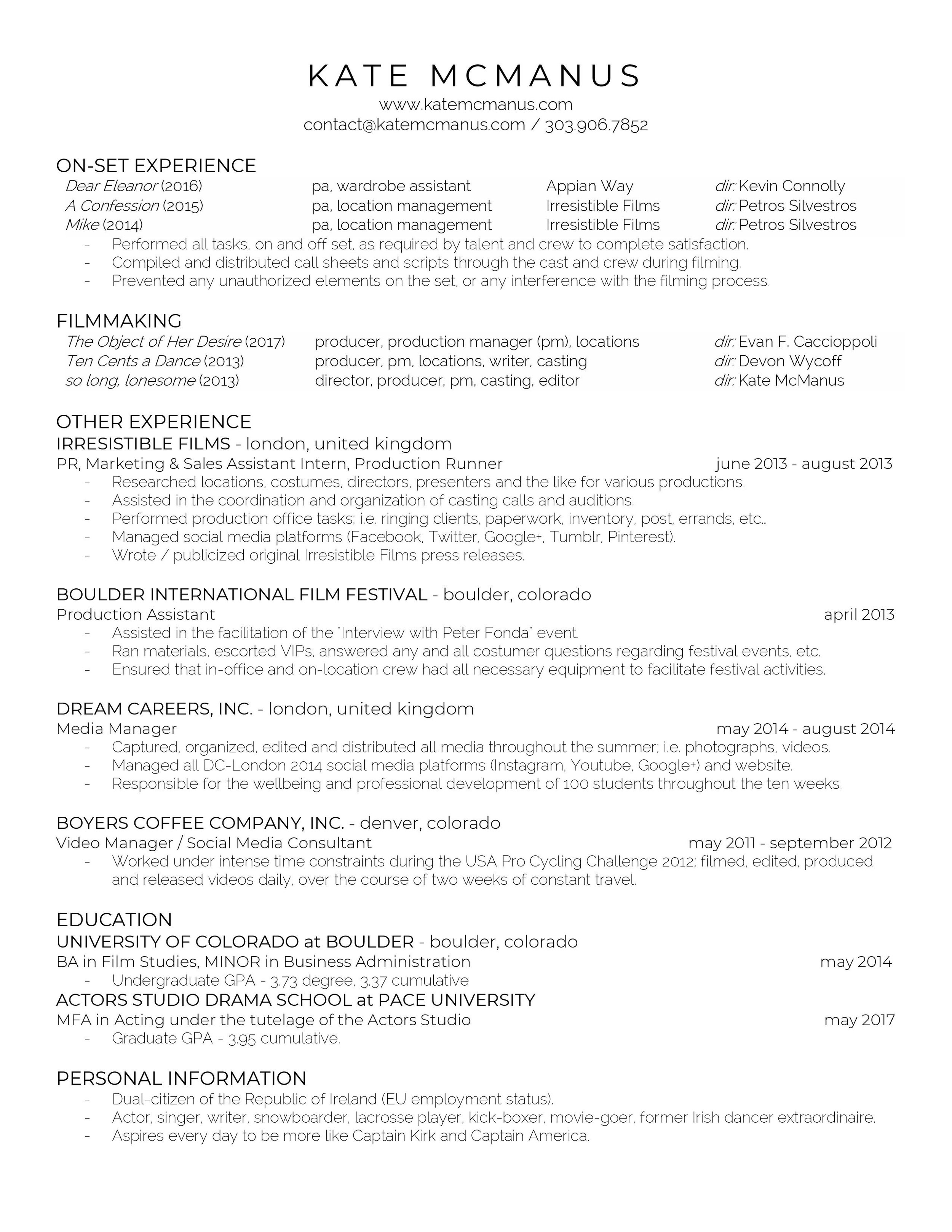 Kate McManus - Film Resume-page-001.jpg
