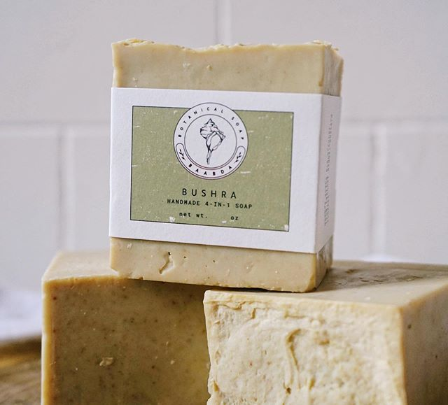 So excited to have @baabda.botanicalsoap with us next weekend! Based right here in Albany, Hajar makes beautiful sturdy soaps in different sizes as well as sugar scrubs, creams and beard oils using natural ingredients inspired by traditional Middle Eastern recipes.