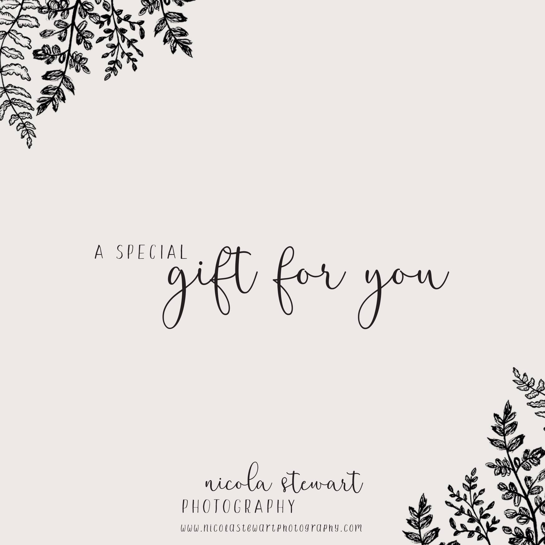 Gift Voucher - I even do these ace little vouchers that make the ideal gift.!