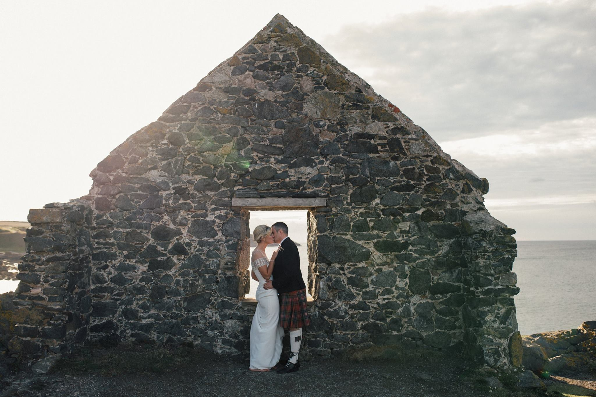 Katherine & Chris - This lady is an absolute gem of a photographer. I feel really lucky that she captured our wedding day and we absolutely adore the photos. The moments she captured will be treasured.Puts you completely at ease, which for two people who don't love getting their photo taken, that isn't easy!The photos of us at Portsoy Harbour exceeded all my expectations and can't believe it's us!Thank you Nicola - such a talented and lovely lady Xx