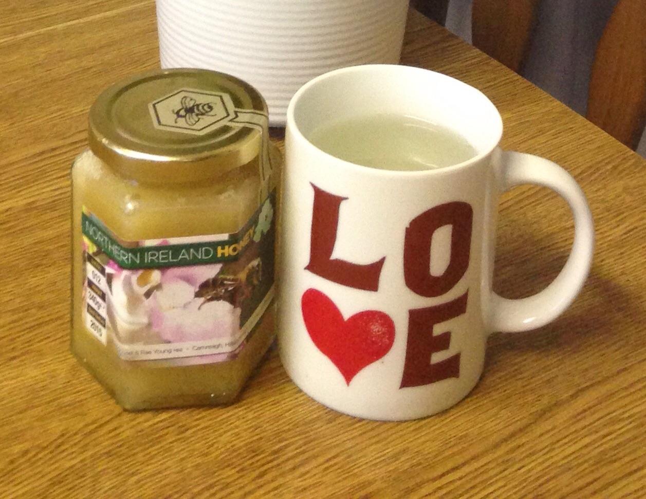 LOVE honey water