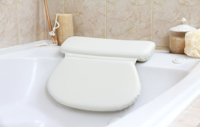 Luxury Spa Bath Pillow £26.99   What a great way to make your bath a little more luxurious! There's lots of these available online but this one can be found on Amazon   here   in time for Christmas!  Image Amazon