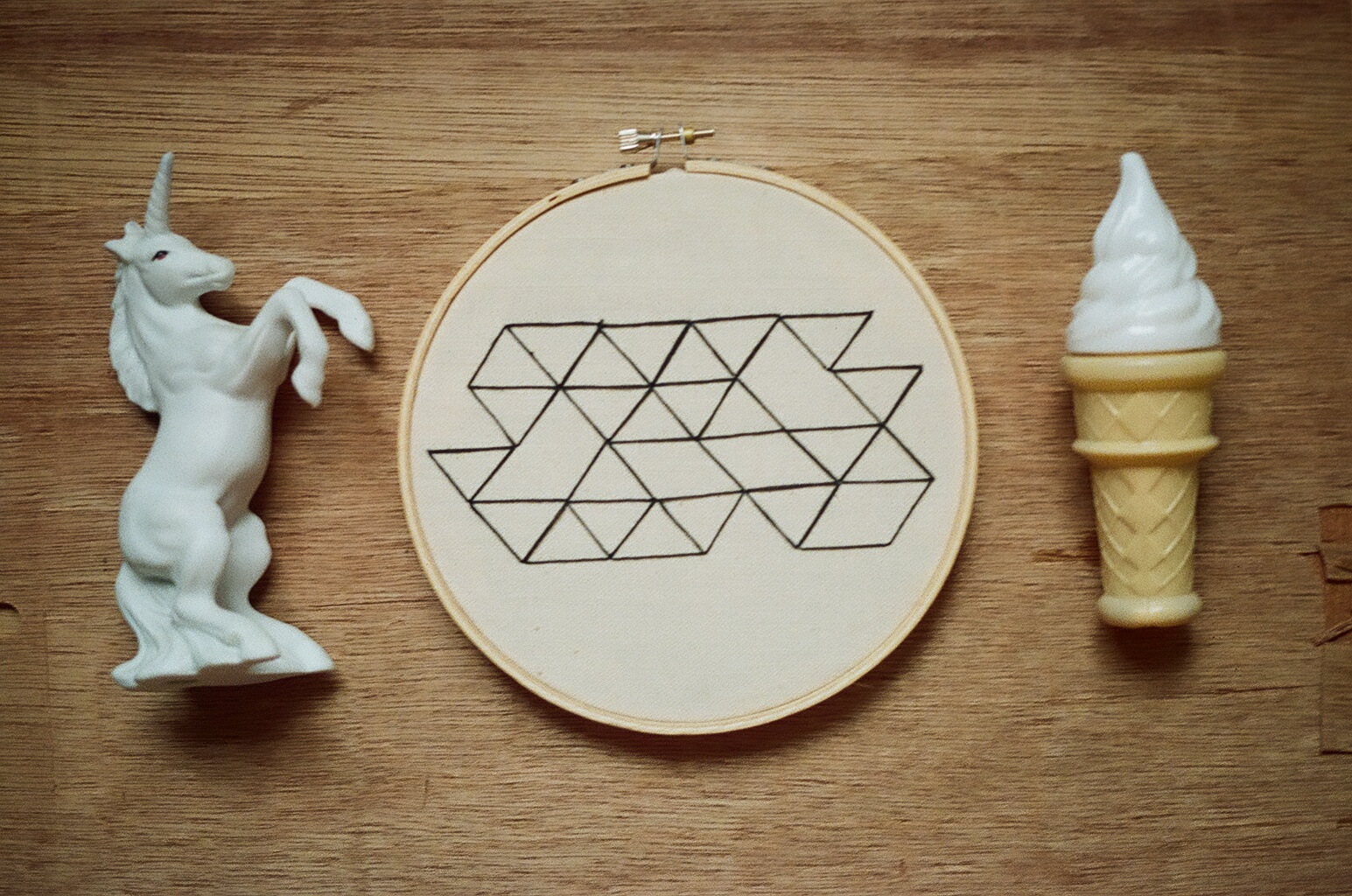 Triangle Embroidery