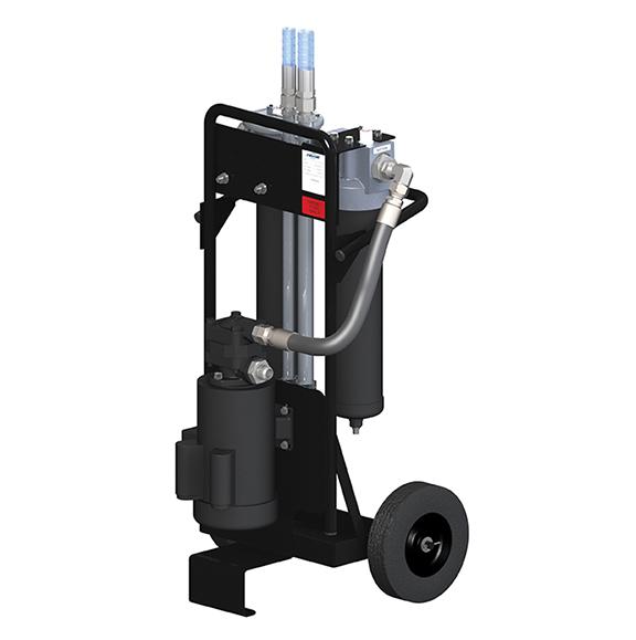 Bulk Diesel Filter Cart