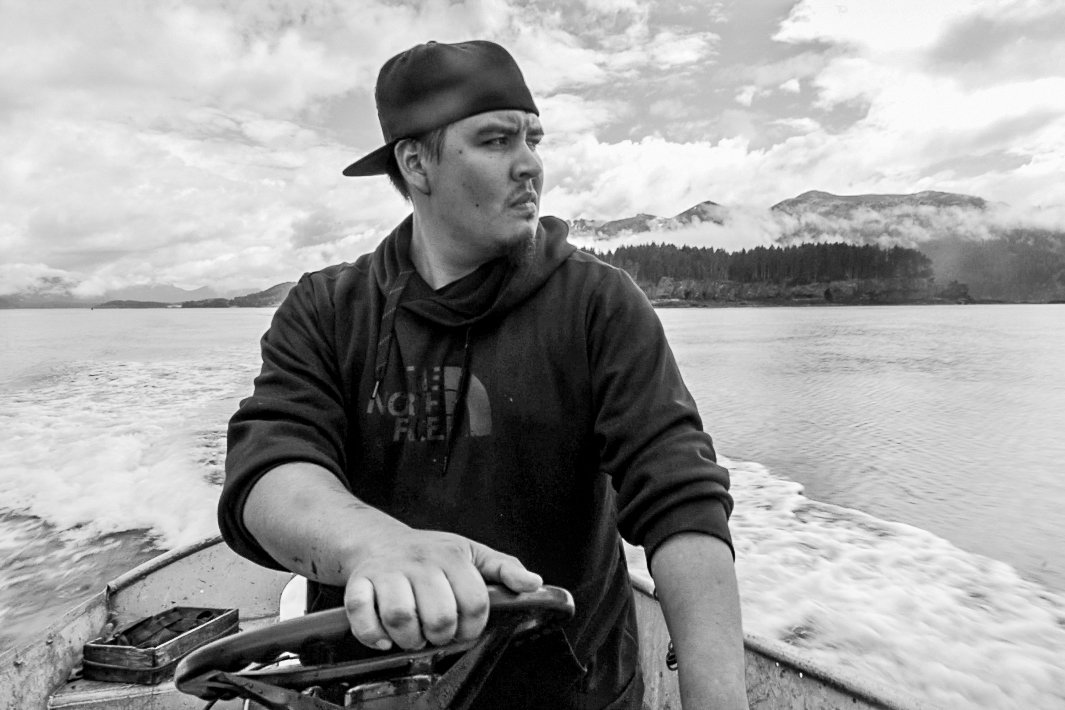 "Tim Malchoff, Education Coordinator and Hunter, Port Graham, Alaska:  ""Whenever I've gone hunting I've always gotten a tag from Fish and Game. It's letting them know that, ""hey I went over here and I got an otter"" So I'll go out, I'll get an otter and skin it up and then I'll call [our chief]. He'll come down and tag the pelt and the skull so that, you know, this was legally caught. It's abiding by their laws and our laws."""