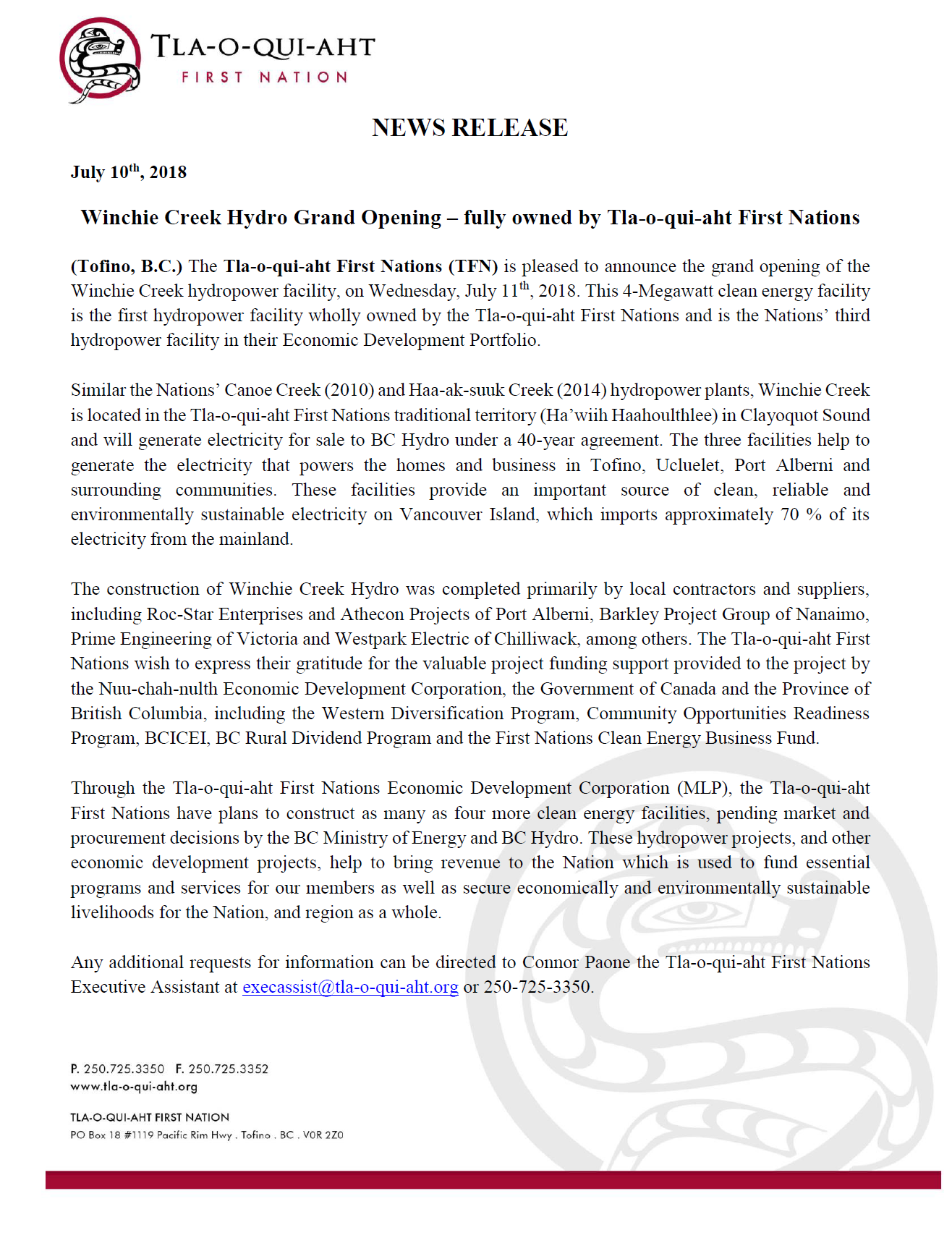 TFN EDC News Release.png