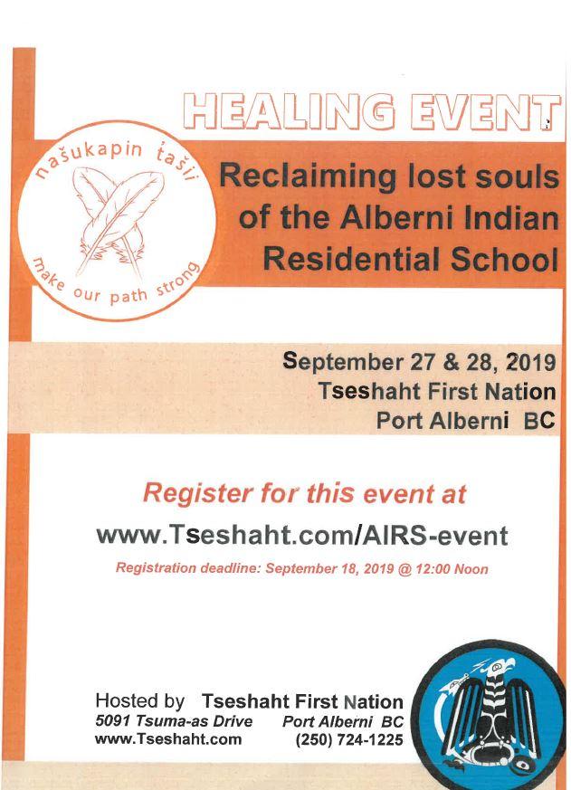 Tseshaht Healing event.JPG