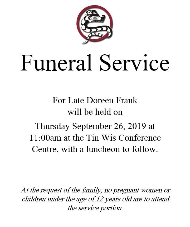Funeral for Late Doreen Frank.JPG