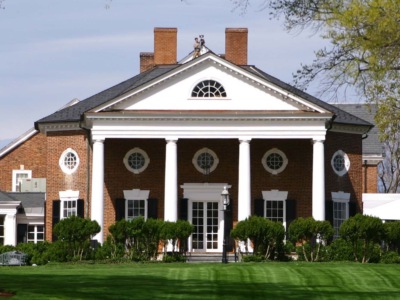 FARMINGTON COUNTRY CLUB - CHARLOTTESVILLE, VA - 1803 THOMAS JEFFERSON