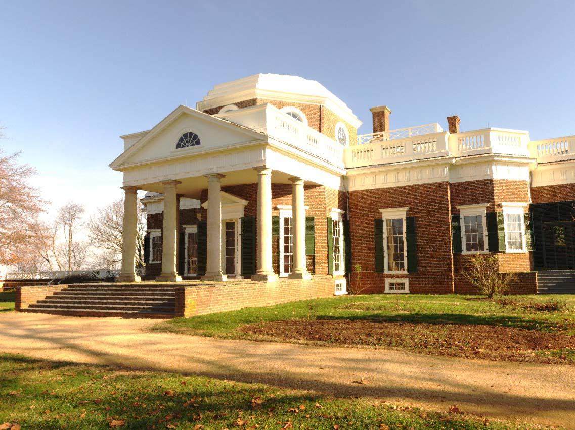 MONTICELLO - HOUSE MUSEUM - CHARLOTTESVILLE, VA - 1772 THOMAS JEFFERSON