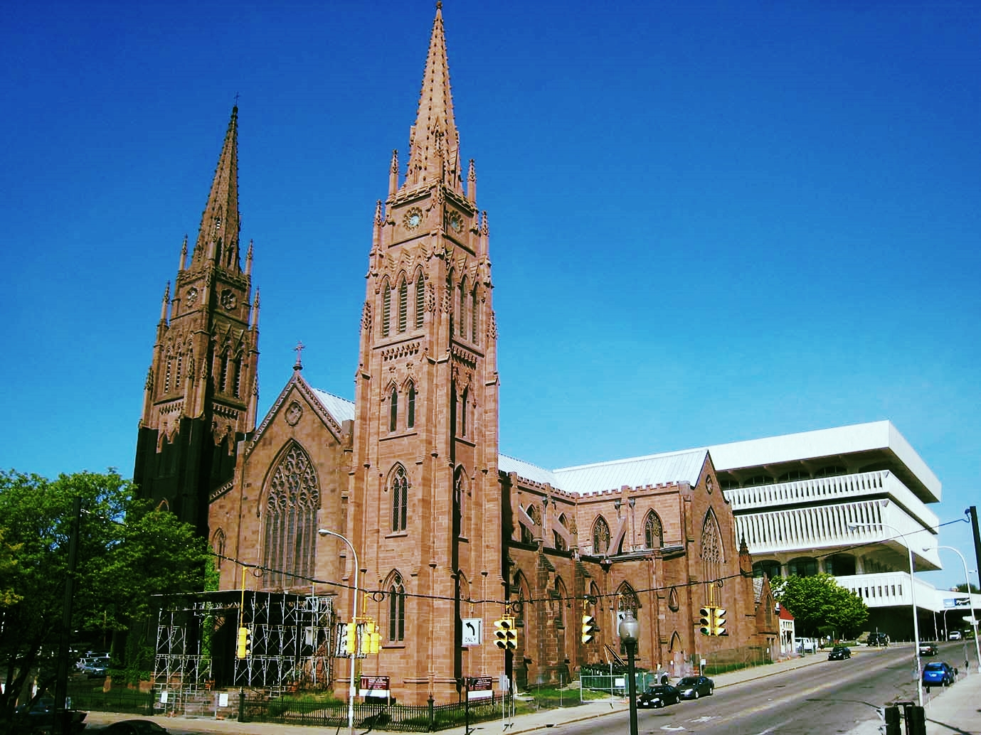 CATHEDRAL OF THE IMMACULATE CONCEPTION - ALBANY, NY 1852 PATRICK KEELY