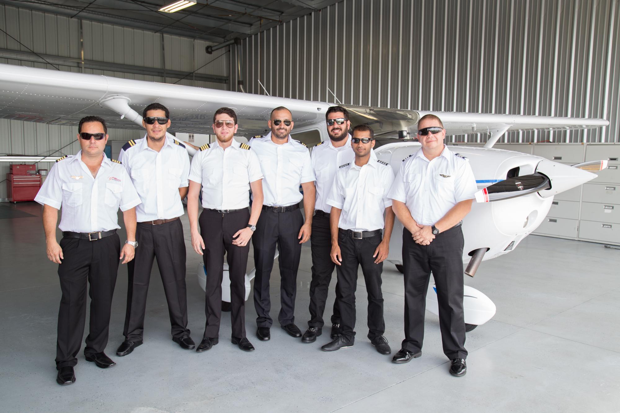 International Student Pilots